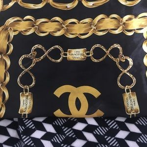 Chanel head scarf